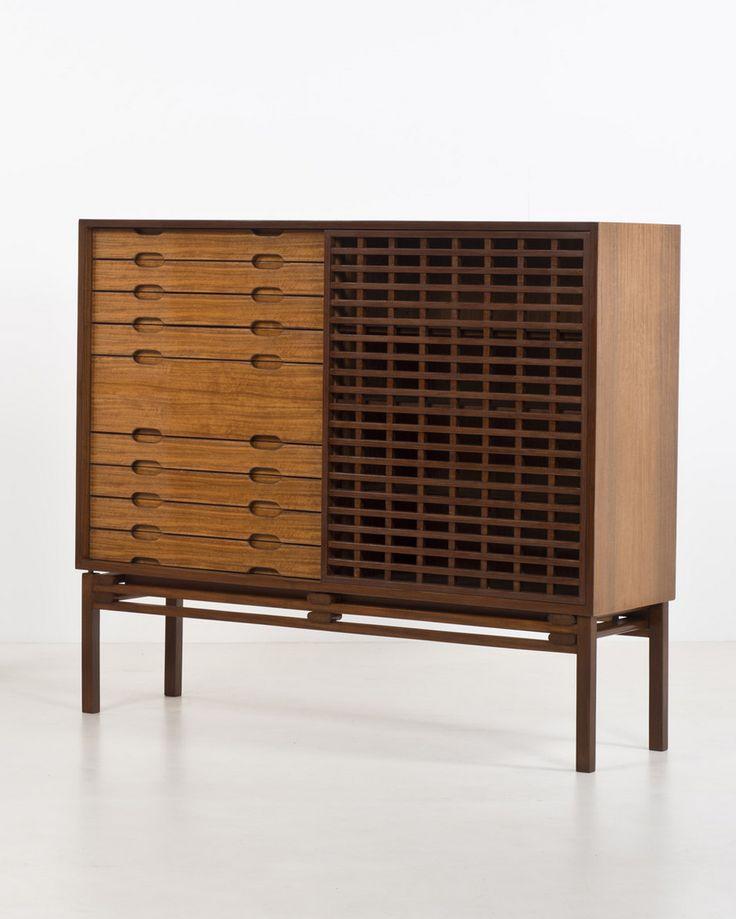 Ilmari Tapiovaara - Walnut Cabinet for Ditta Tonelli & Broggi, 1957