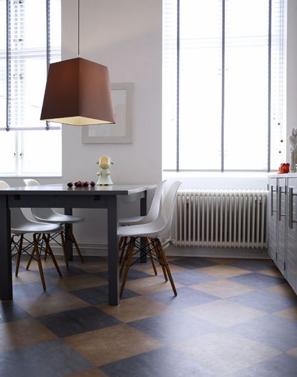 Marmoleum floors! desire to inspire - desiretoinspire.net - Petra Bindel