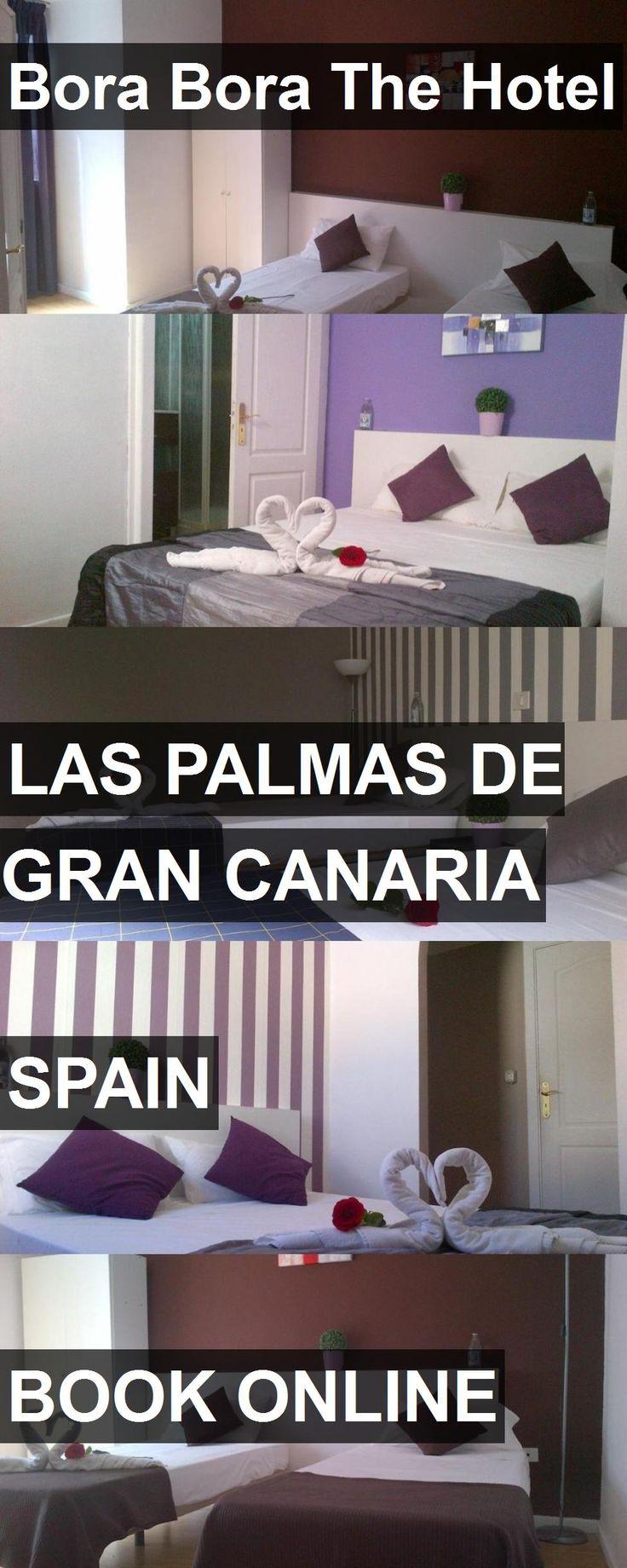 Bora Bora The Hotel in Las Palmas de Gran Canaria, Spain. For more information, photos, reviews and best prices please follow the link. #Spain #LasPalmasdeGranCanaria #travel #vacation #hotel