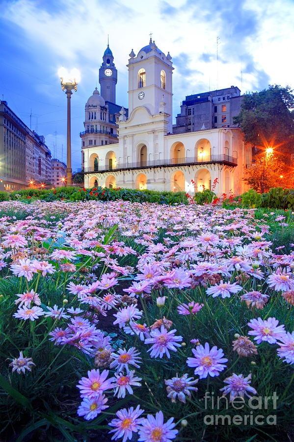 ✯ National cabildo building at May square (Plaza de Mayo) - Buenos Aires, Argentina