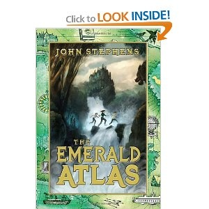 Series of Unfortunate Events + The Hobbit + Back to the Future (yes, the movies) = The Emerald Atlas :)