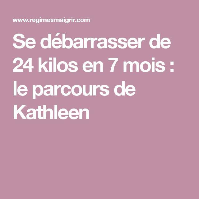Se débarrasser de 24 kilos en 7 mois : le parcours de Kathleen
