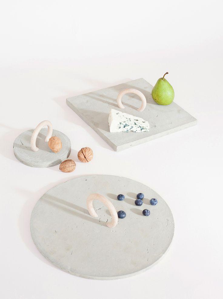 DIY concrete tray - Heju for Mint magazine