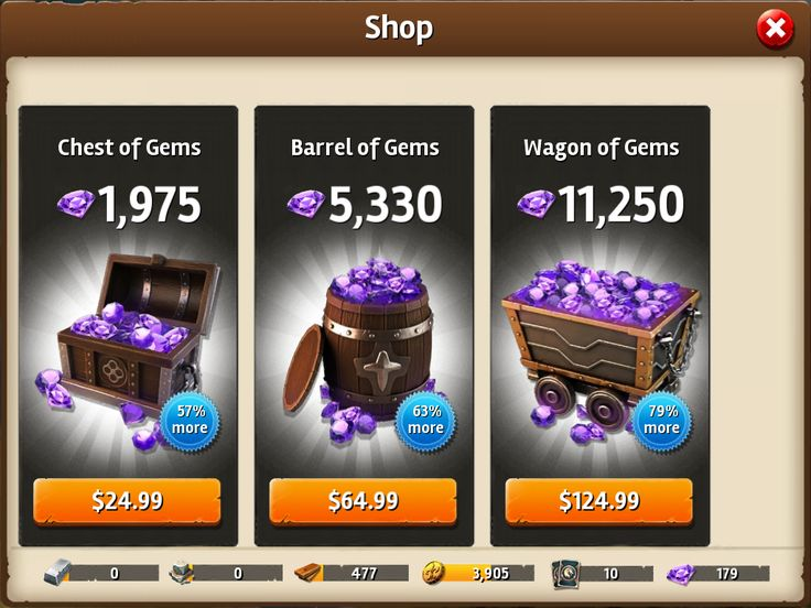 Siegefall   IAP   Gem Shop   No Promo   UI HUD User Interface Game Art GUI iOS Apps Games   Gameloft   www.girlvsgui.com