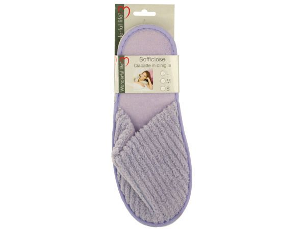 Women's Plush Slippers ( Case of 16 )