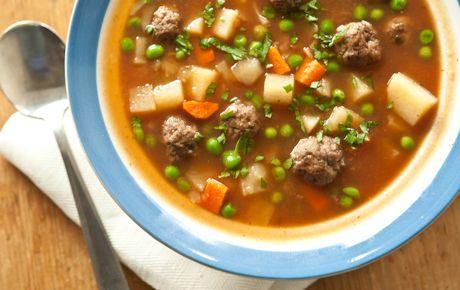 Kofta soup