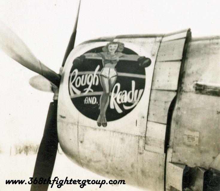 """Rough and Ready,"" P-47 ""Thunderbolt"""