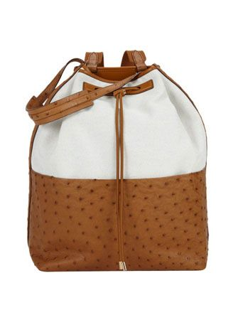 The Row Ostrich Backpack