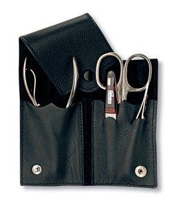 Маникюрный набор Yes из 4-х предметов, коричневый купить по лучшей цене с бесплатной доставкой по Москве, Санкт-Петербургу и России