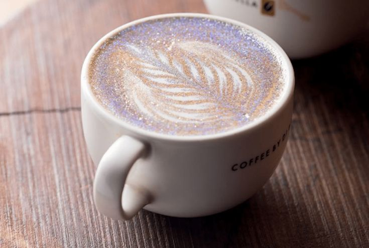 Glitter Cappuccinos Are The Newest—and Prettiest—coffee Trend