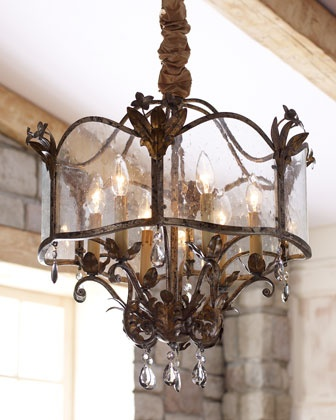 """""""Zara"""" Chandelier at Horchow.  I want this for my hall."""