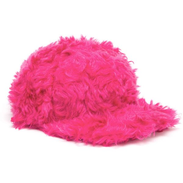 House Of Holland Pink Fur Snapback Cap ($60) ❤ liked on Polyvore featuring accessories, hats, fillers, snap back cap, pink cap hat, cap snapback, snapback hats and pink snapback hat