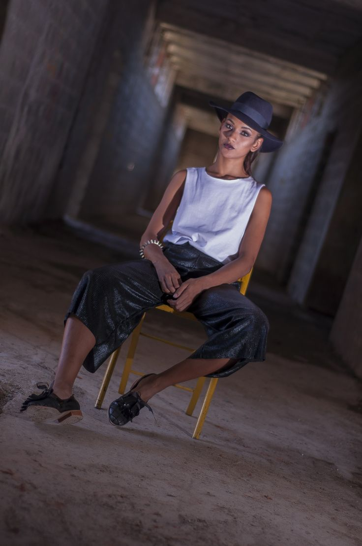 Culotte plisado + camiseta buscapleitos @styletissu