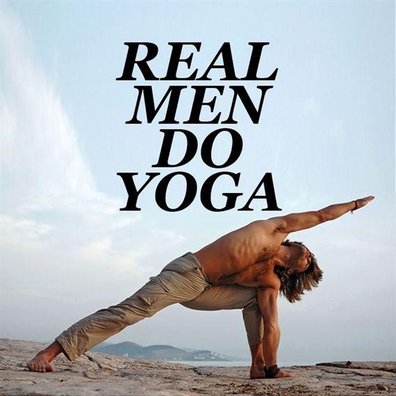 Real Men Do Yoga #YogaMen http://iandarrah.com/ #YogaMeditation