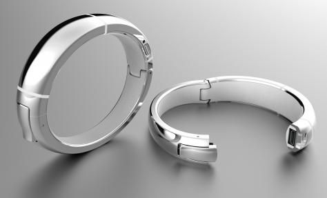 MEMI -  iPhone-compatible smartbracelet that notifies the user when she receives important phone calls, texts and calendar alerts. A woman controls which contacts and events vibrate her bracelet via a phone application. #iot