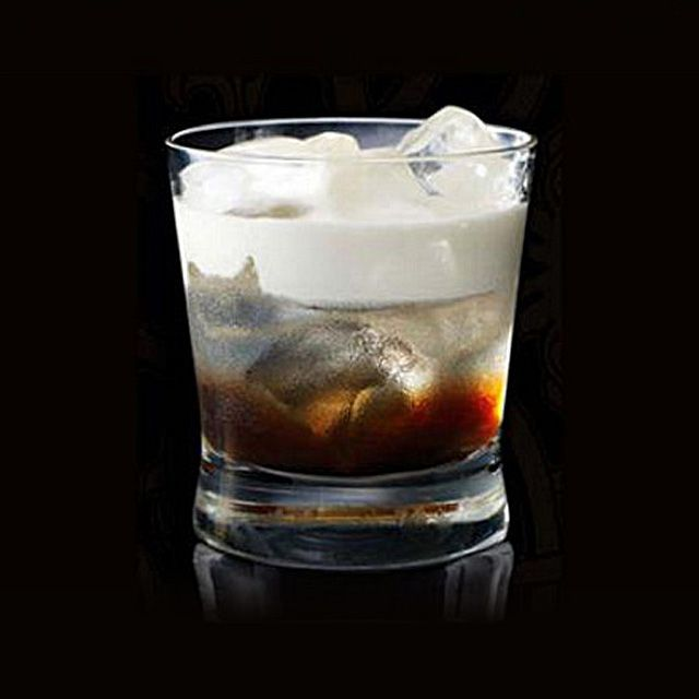 White Russian On the Rocks