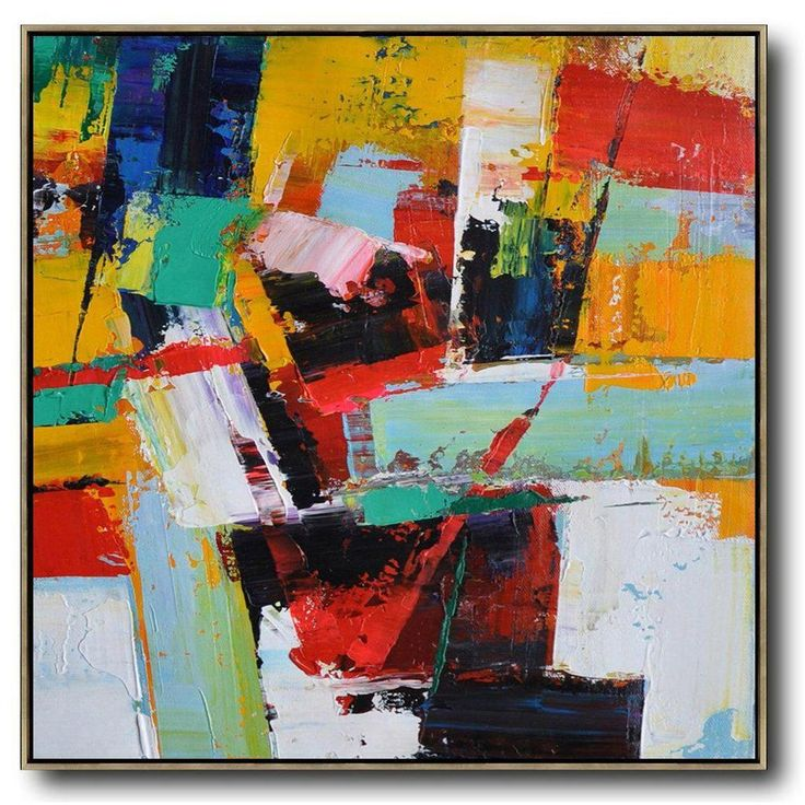 Palette Knife Contemporary Art C26A in 2020 (met