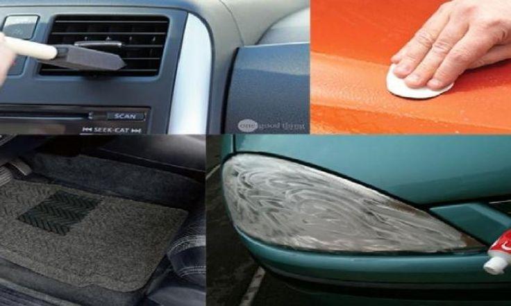 Votre voiture n'aura jamais été aussi propre : 13 trucs que l'on aurait aimé connaître plus tôt!