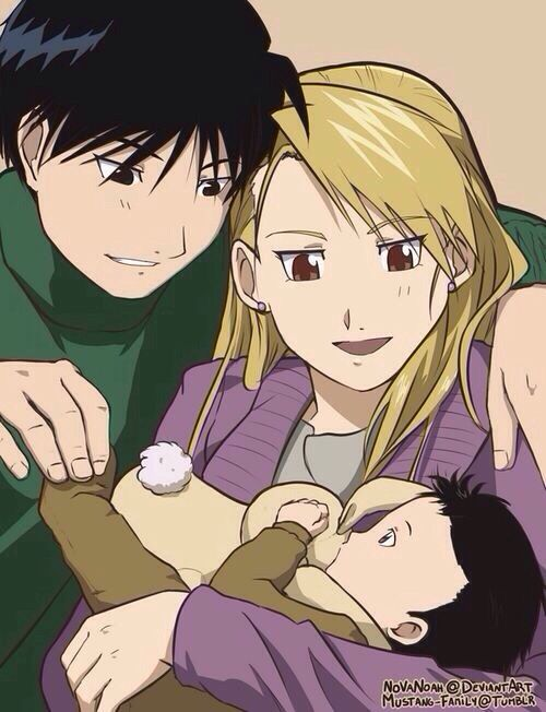 Fullmetal Alchemist - Roy Mustang x Riza Hawkeye - Royai PLEASE CAN THIS BE REAL!!