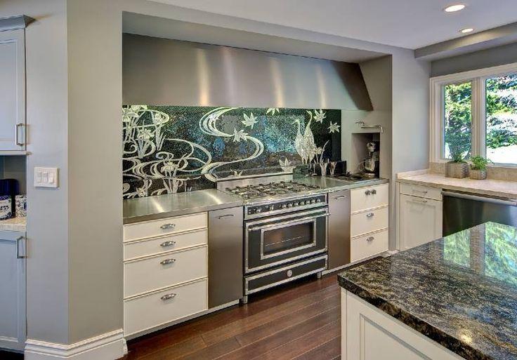 Bertazzoni Italia Heritage Range. Kitchen Designed By Brian Z Allen And  Photograph By Tim Maloney