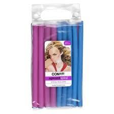 CONAIR hair rods (we can get ones for long hair, so we can do all of my hair...unlike our curlformers)