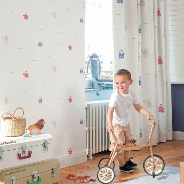 11 best papel pintado infantil my little world casadeco - Decoracion de paredes infantiles ...
