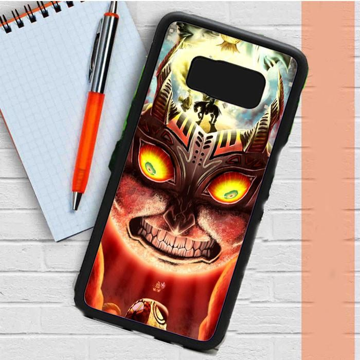 Moon Fall Majora Mask Zelda Tm00 Samsung Galaxy S8 Plus Case Dewantary