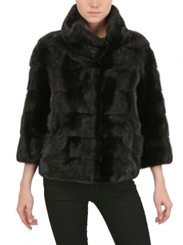 1000 Ideas About Black Fur Coat On Pinterest Fur Coats