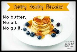 no butter no oil pancake recipe   – Breakfast