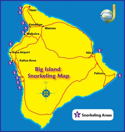 Recommended Big Island Snorkeling Spots - By Real Snorkelers