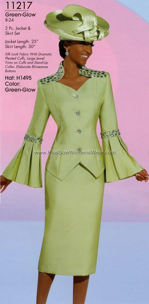 women's church suits 2014 | Donna Vinci 11217