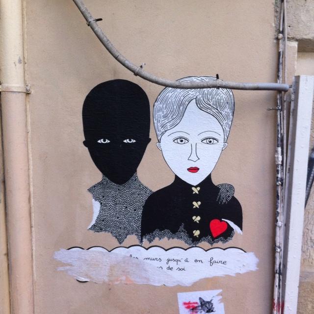 Fred le Chavalier - Paris Street Art