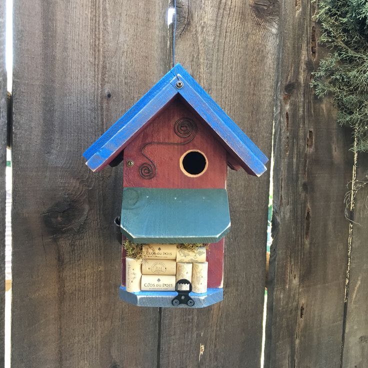 Country style bird houses
