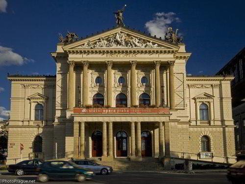 Státní opera Praha - přední pražská operní scéna