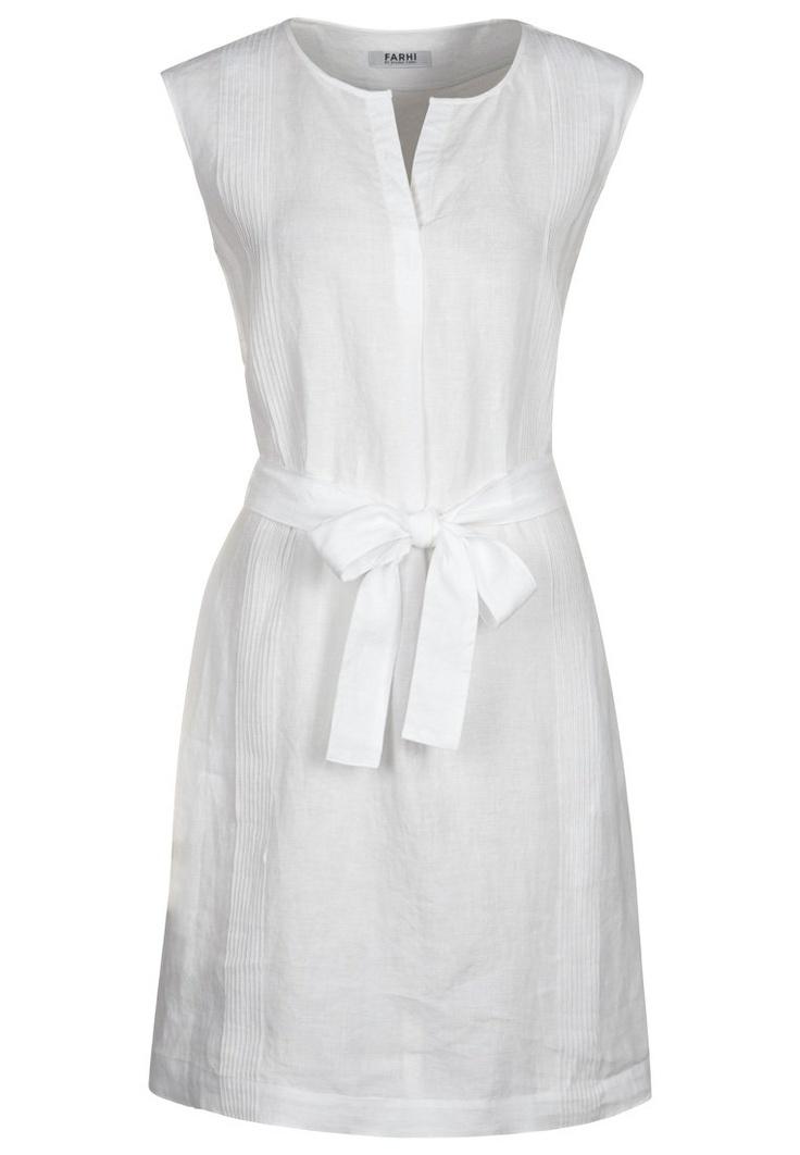 Farhi by Nicole Farhi - Vestido informal - blanco