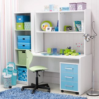 Cozy Decorating Ideas Home Office Kids Study Desk
