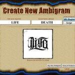 Ambigram Tattoo Generator Free