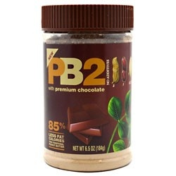 PB2 Powder Pnut Bttr/Chc!  The only thing better than than regular PB2 is PB2 with premium chocolate!!  85% less fat calories than regular peanut butter!  It's ALL natural with NO additives!  This site has the best prices, and super quick delivery!  I think I'll save myself some time and order a case next time! :)