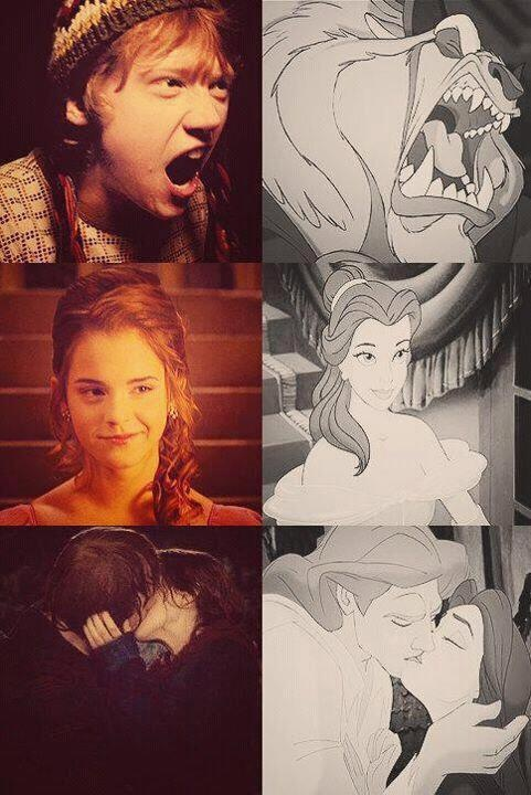 This makes me so happy, especially since the live action Beauty and the Beast with Emma Watson is coming soon!!