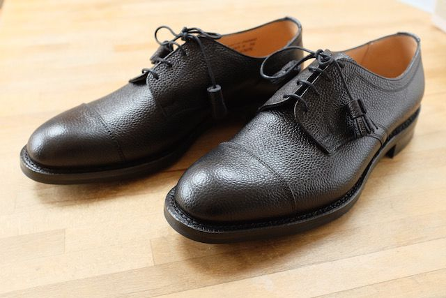Grey Fox: Cheaney Thomas: shoes made in Northampton