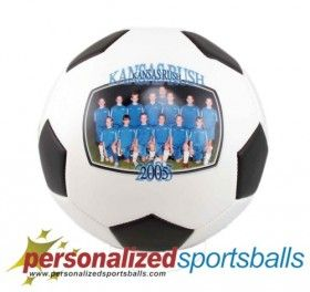 Our full size Soccer Balls are a wonderful gift for coaches. How about a picture of the team signed and delivered right to your coach or one for the mantel to remember that championship team. The full size Soccer Ball Gifts have a larger panel that can be used for all your personalization needs. Estimated Shipping between 5 to 9 Business Days