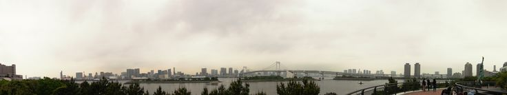 A panorama I took from Odaiba