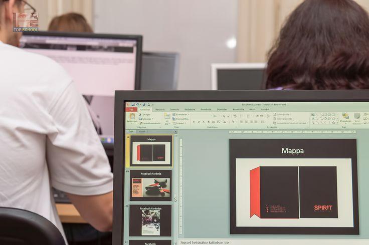 Készülnek a szakdolgozatok a Grafikus OKJ tanfolyamon!   #tanfolyam #topschool #okj #oktatás #grafikus #iskola #szakma #képzés