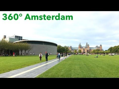 [360] Museumplein / Place du Musée (Amsterdam) - Vidéo sphérique - from #rosalys at www.rosalys.net - work licensed under Creative Commons Attribution-Noncommercial