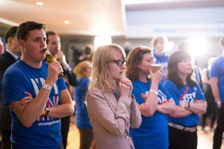 Two weeks ago, young people were being urged to make sure they were registered to vote to shore up the Remain vote in the EU referendum.
