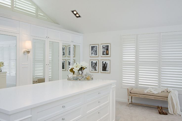 Luxe wardrobes have caught our eye this season and nothing says luxe quite like this opulent dressing room, crafted by Verandah House and Garsden and Clarke Kitchens.