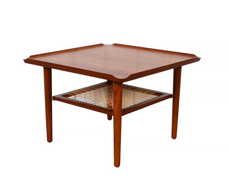 Poul jensen coffee table teak side table danish modern teak danishes and danish modern Modern teak coffee table