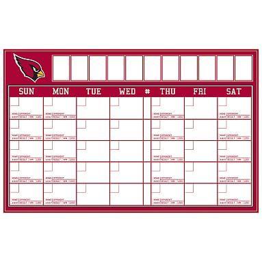 NFL Calendar, Arizona Cardinals