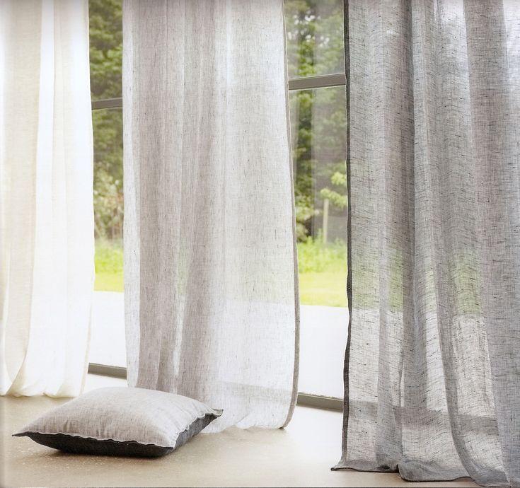 Tende lino villanova tende pinterest galleries for Tende lino moderne