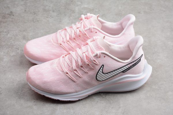 WMNS Nike Air Zoom Vomero 14 Pink White Running Shoes-1 0edd8596c